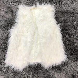 Canyon River Blues | Kid's Faux Fur Vest | Size L